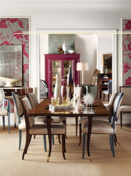 Meredith Odonnell Portfolio Interiors Transitional Dining Room Vignette