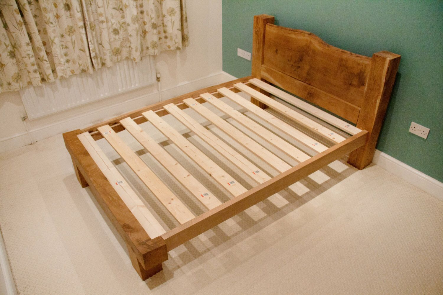 Oak Bed Frame - Oak Beams - Solid Oak - Framing Beams - Pegged ...