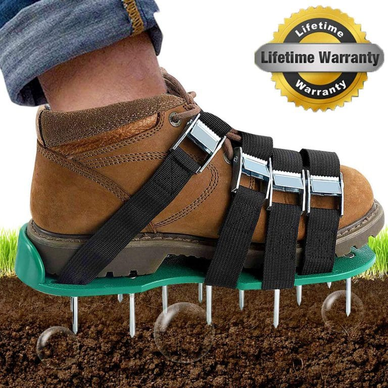 Top 10 Best Lawn Aerator Shoes In 2020 Reviews Aerate Lawn Unique Strap Shoes