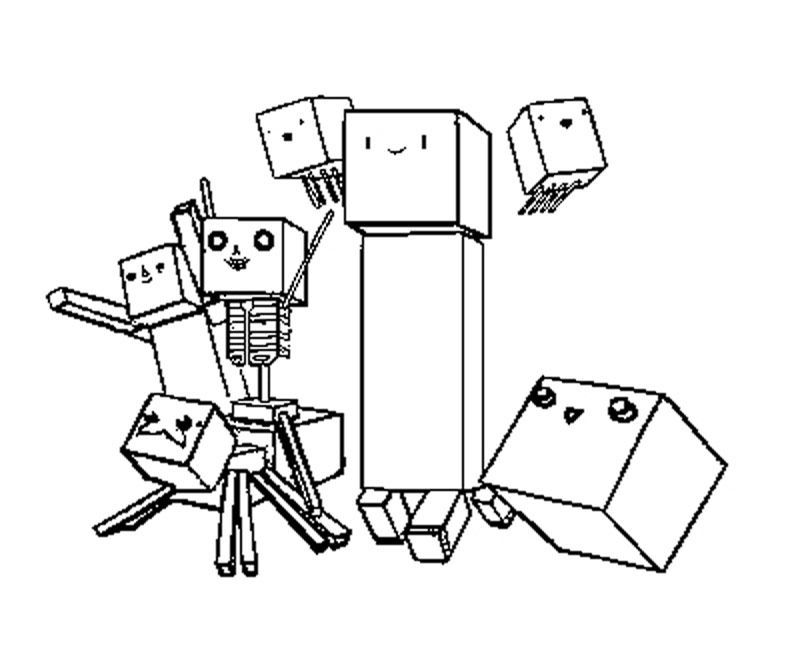 Printable Minecraft Coloring Pages Coloring pages Pinterest - best of minecraft coloring pages chicken