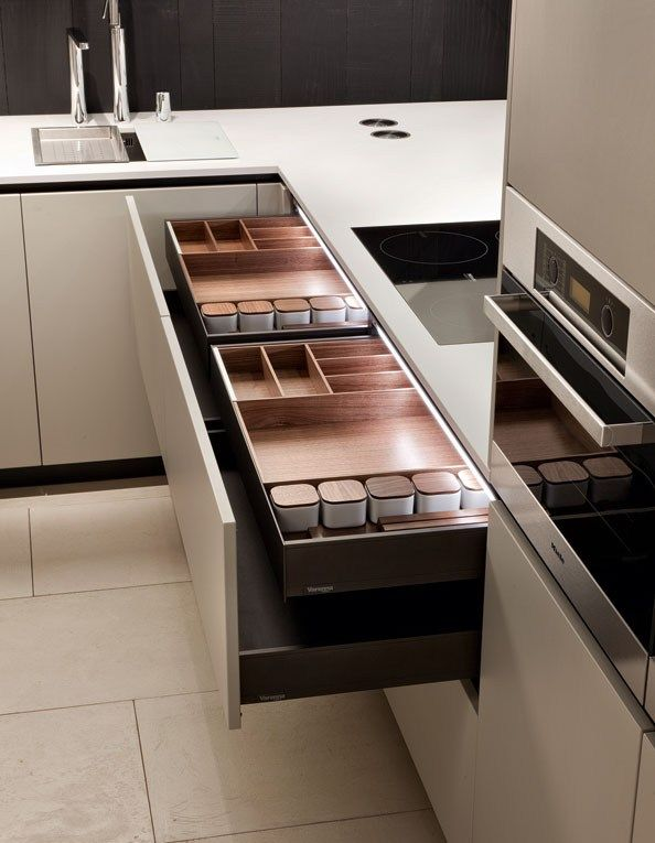 Lacquered Wooden Kitchen ALEA