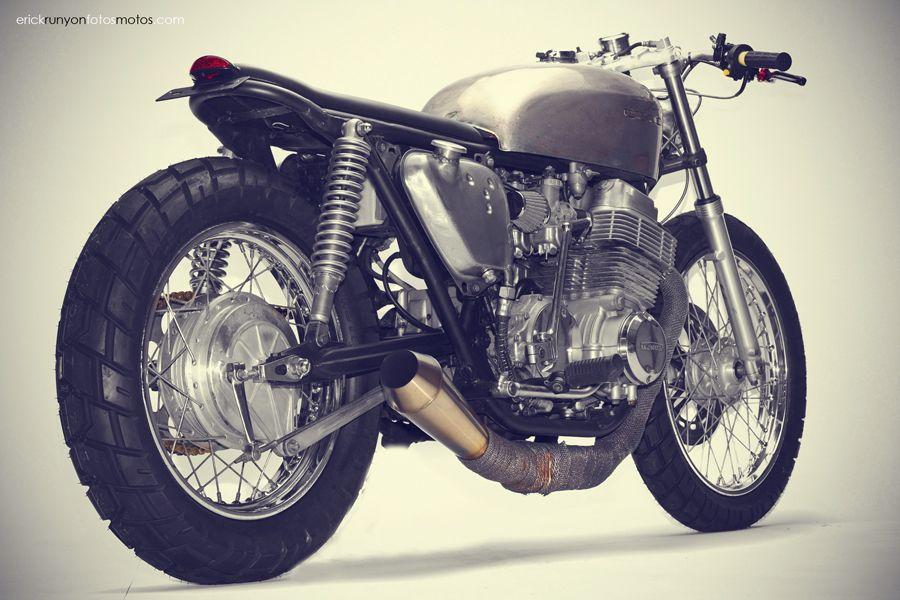 The Brat / Honda CB750 / Steel Bent Customs Photographer erick runyon. Gears & Glory