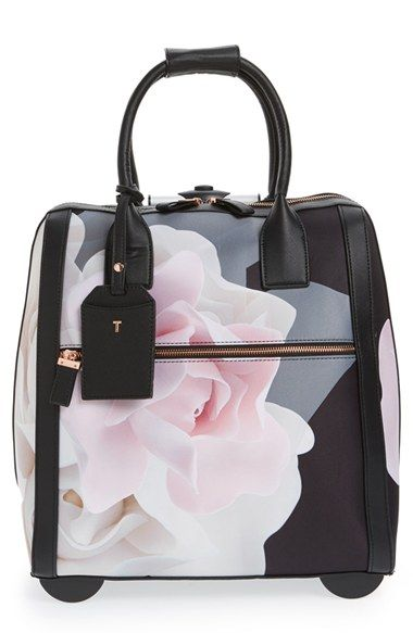ac959f5a21607f Free shipping and returns on Ted Baker London  Porcelain Rose - Odina  Travel  Bag at Nordstrom.com. With its lush photorealistic rose print and gleaming  ...