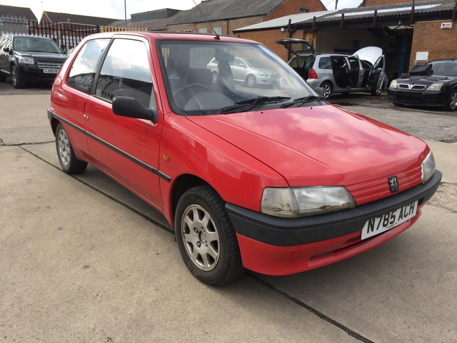 Peugeot 106 1.5 xrd diesel **spares or repair only** one owner from ...