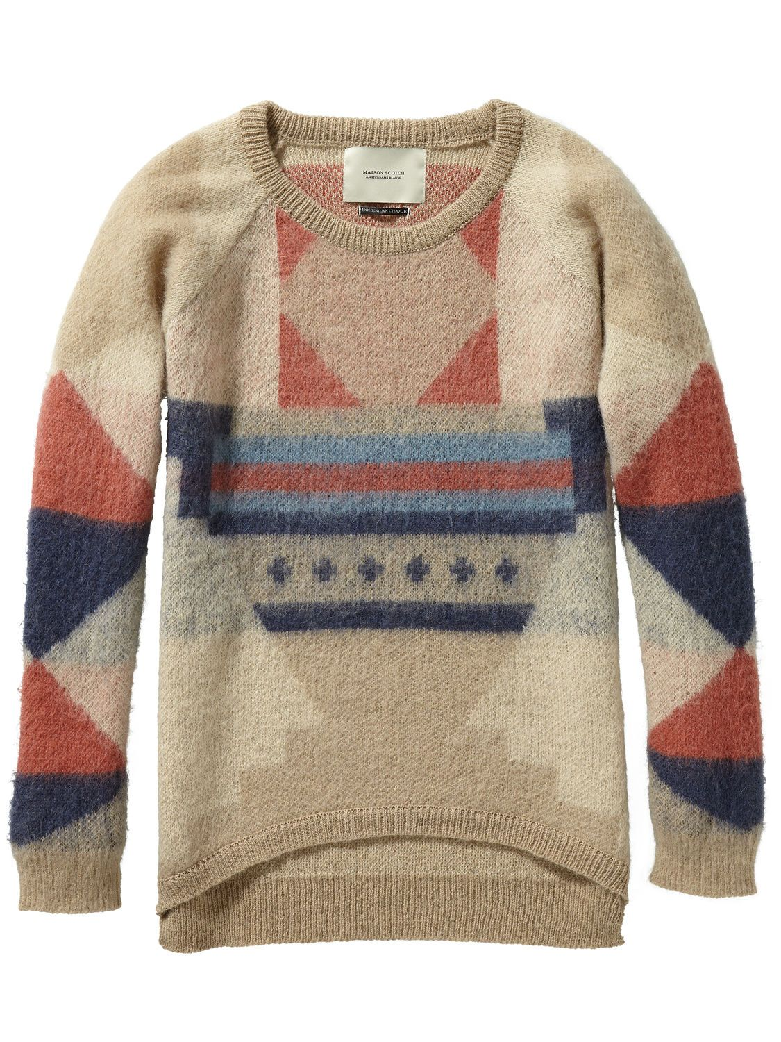 Womens Basic Cardigan with Intarsia Jumper Scotch & Soda Cheap Sale For Nice Shopping Online Clearance Free Shipping Shop acfHFs