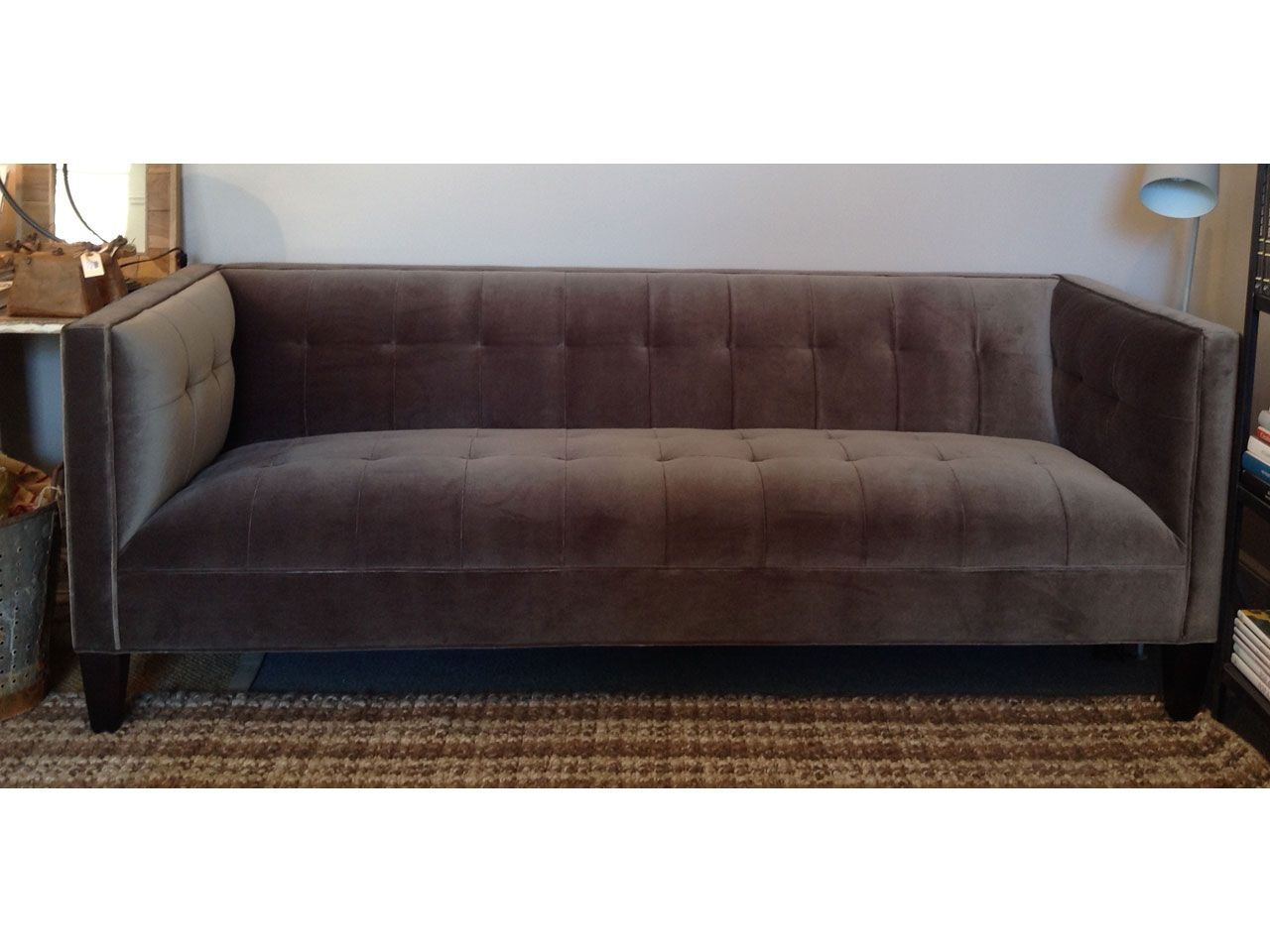 Kennedy 85 Sofa In Venice Graphite By Mitchell Gold And Bob