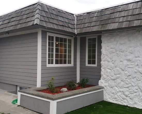 Traditional Painted Stone Exterior Exterior Home Design Ideas Remodels Photos House Exterior Exterior Stone Exterior Paint Colors