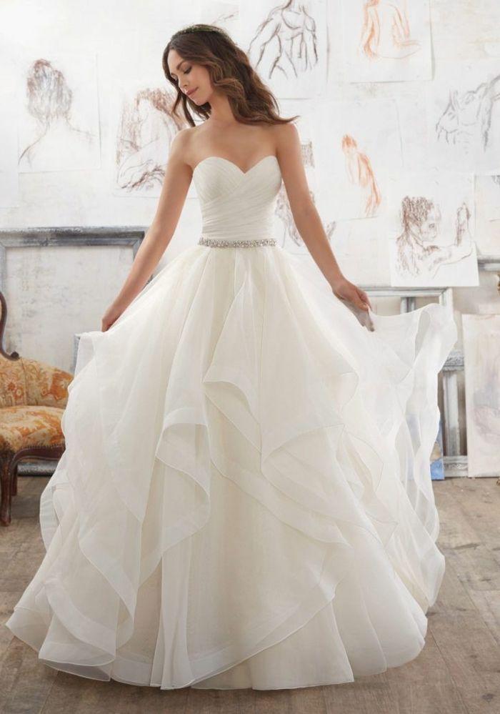 ▷ 1001 + images pour découvrir les meilleures tendances de la robe de mariée 2018
