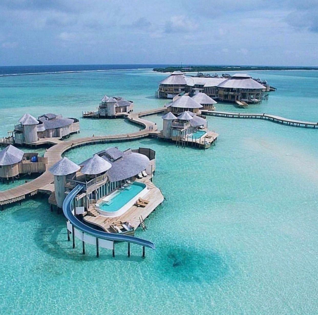 Soneva Jani Maldives Each Villa Has It S Own Waterslide