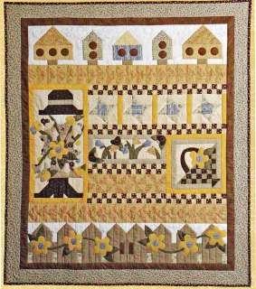 Quilt Pattern ~ BIRDS IN THE GARDEN ~ by Coach House Designs