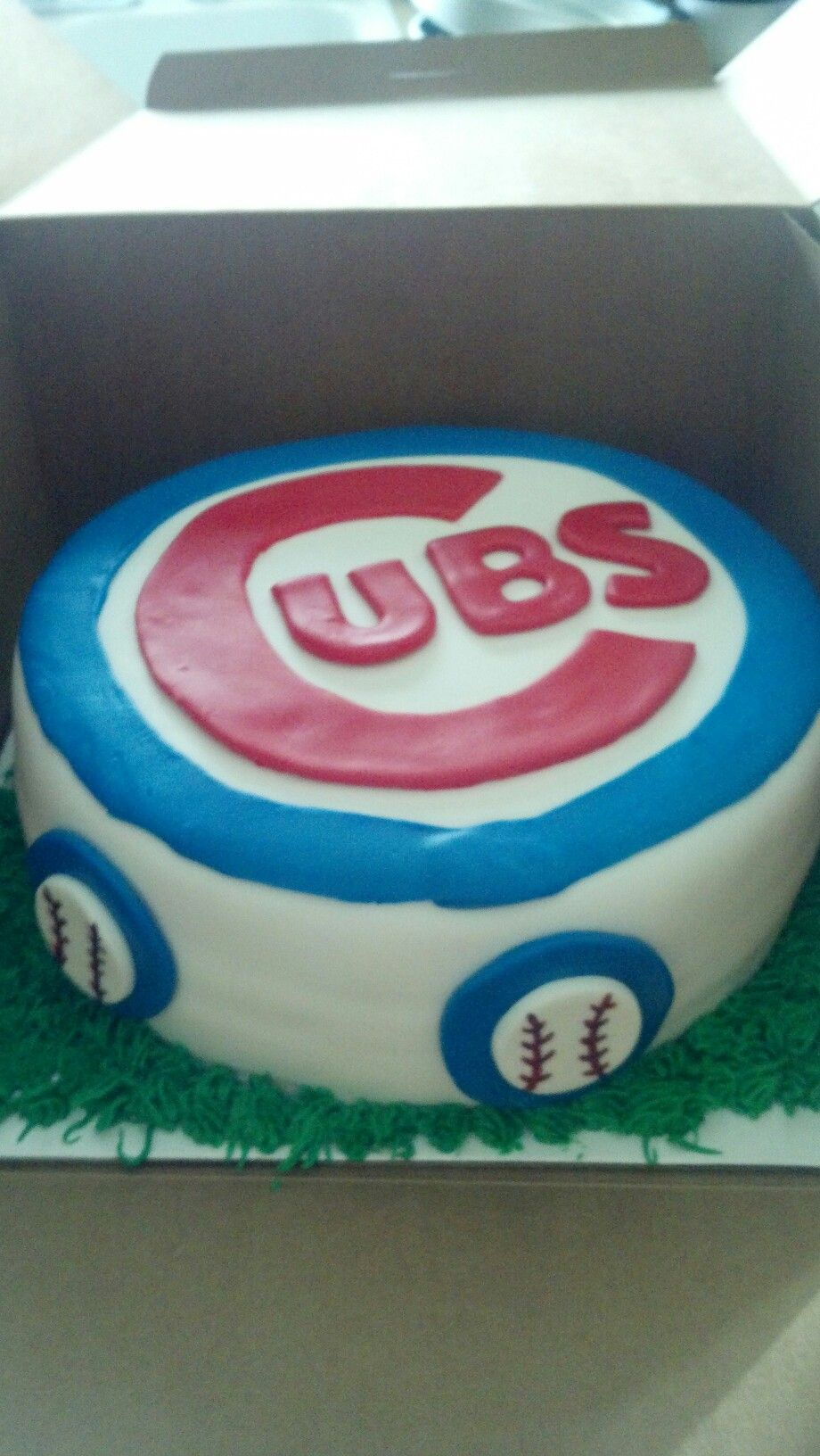 Cubs Cake Cakes Pinterest Cake Birthday Cake Cupcakes And