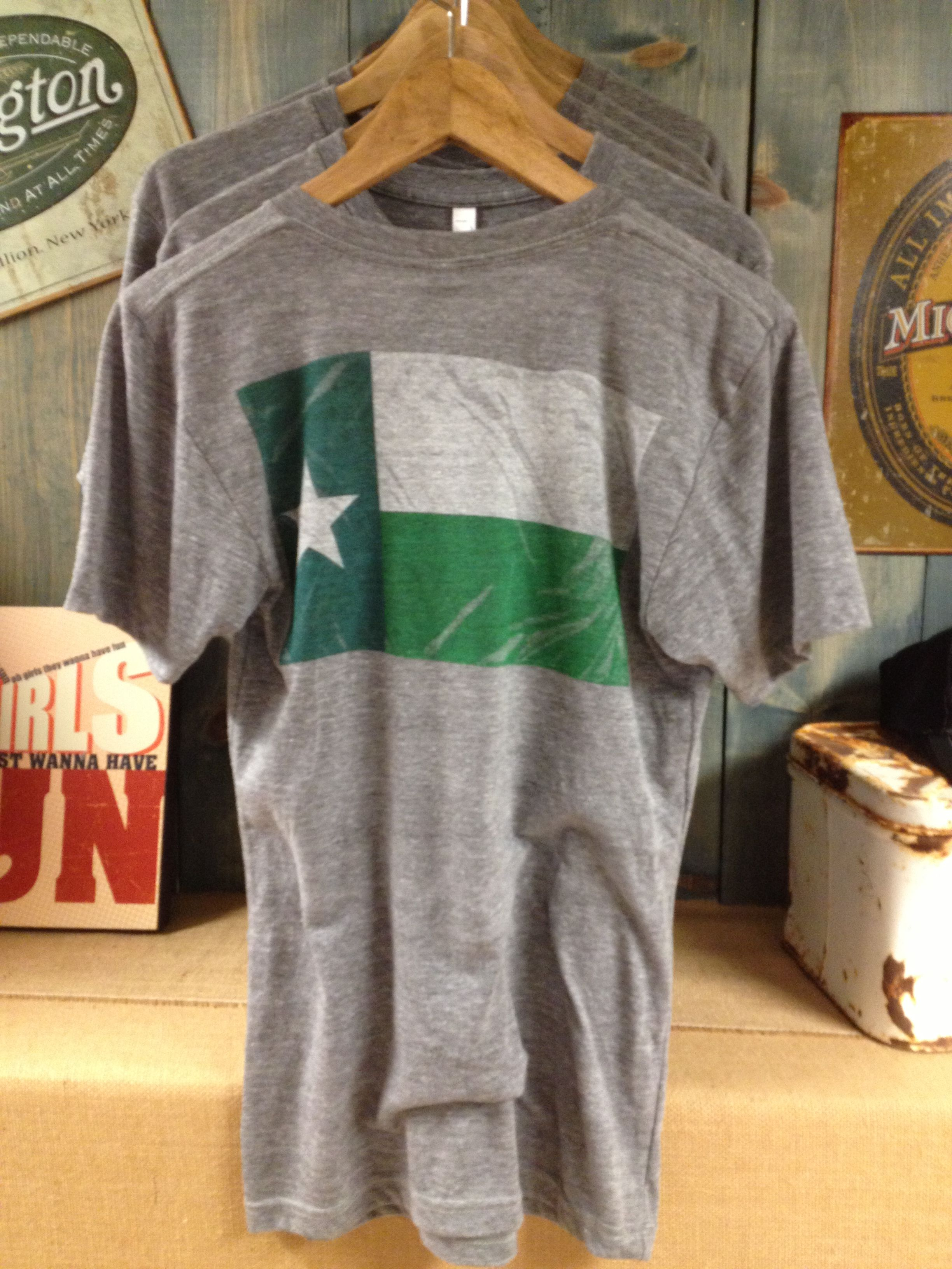 North Texas Battle Flag Shirt Printed On The American Apparel 50 Track