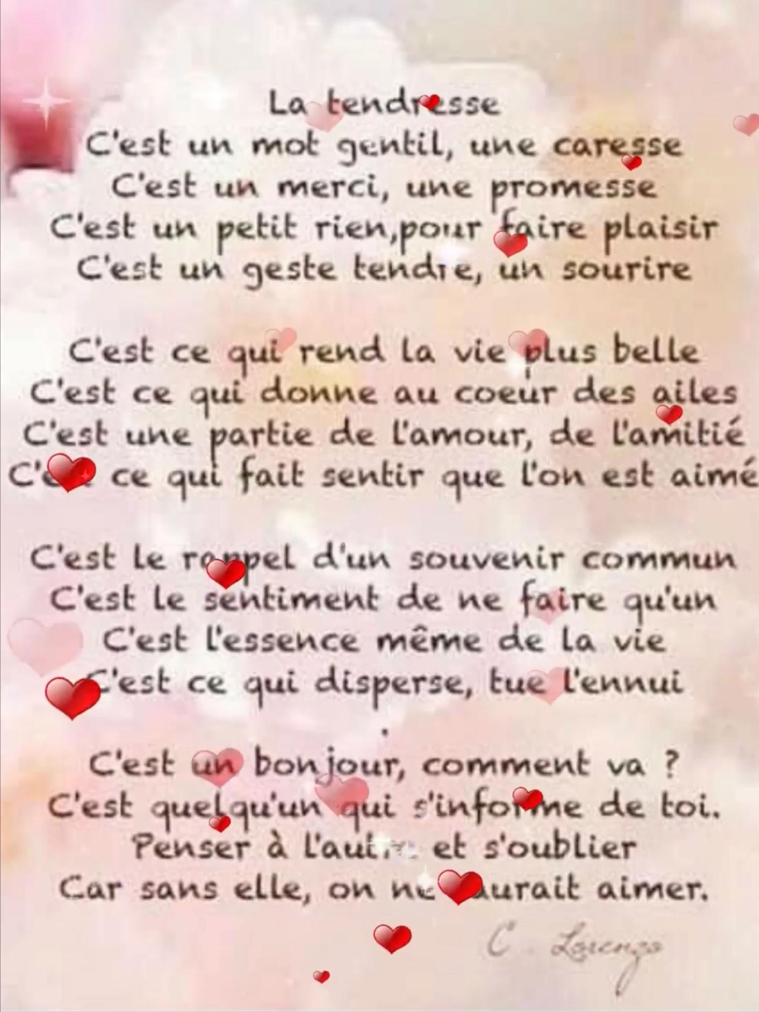 On Est Rien Sans Amour : amour, TENDRESSE, SAURAI, AIMER..💕💕, Gentil,, Tendresse,, Amour