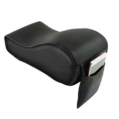 Black A.B Crew Breathable Soft Memory Foam Car Armrest Center Consoles Cushion All Seasons Universal Auto Seat Cushion
