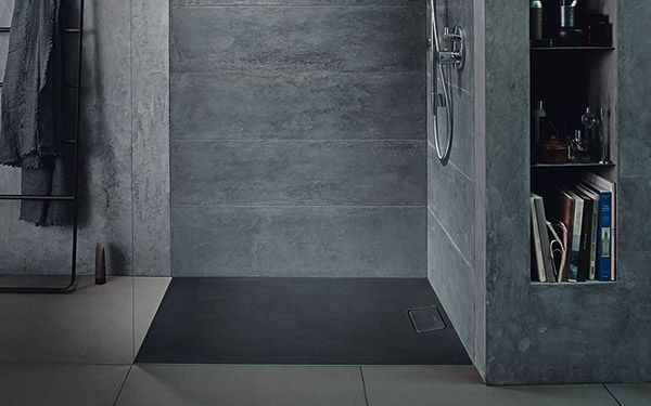 receveur de douche stonetto de duravit espace aubade. Black Bedroom Furniture Sets. Home Design Ideas