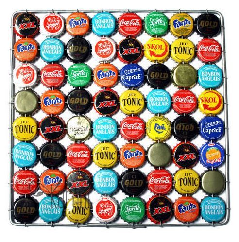 Super Dessous de plat en capsules de bière | DIY Récup et Recyclage  NE96