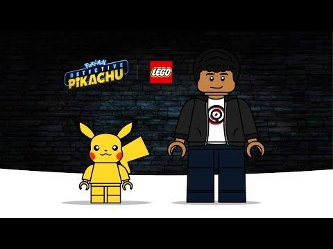 Pokemon Detective Pikachu Drawing Lego Pikachu Tim Goodman