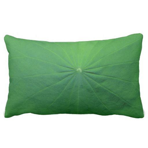 Lotus Leaf Throw Pillows