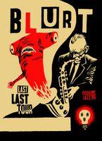 Blurt Poster - Tour Poster - Igor Hofbauer