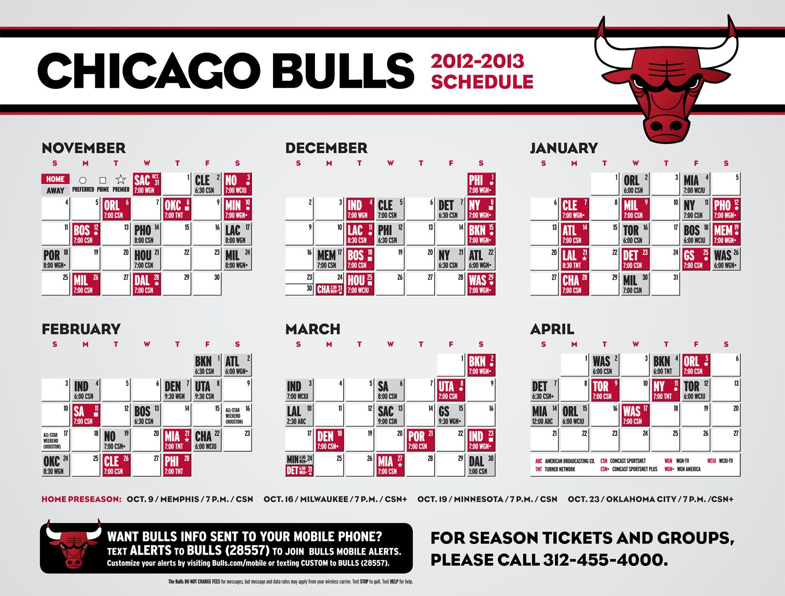 schedule | bull tv, chicago bulls and tv schedule