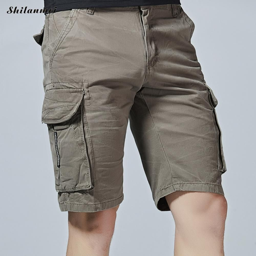 Casual Mens Shorts Summer Loose Middle Waist
