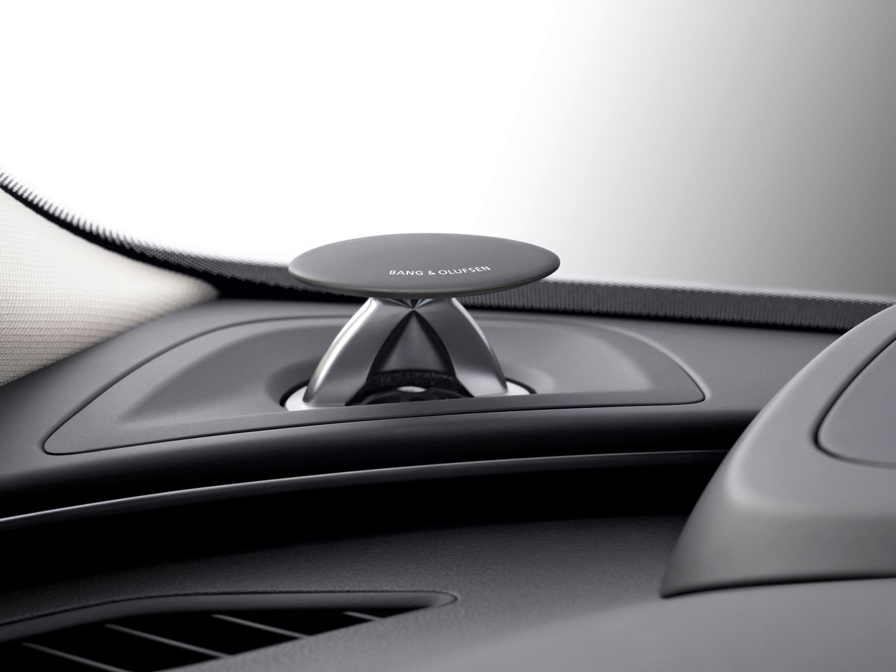 Bang & Olufsen for Audi Car interior design, Audi, Detail
