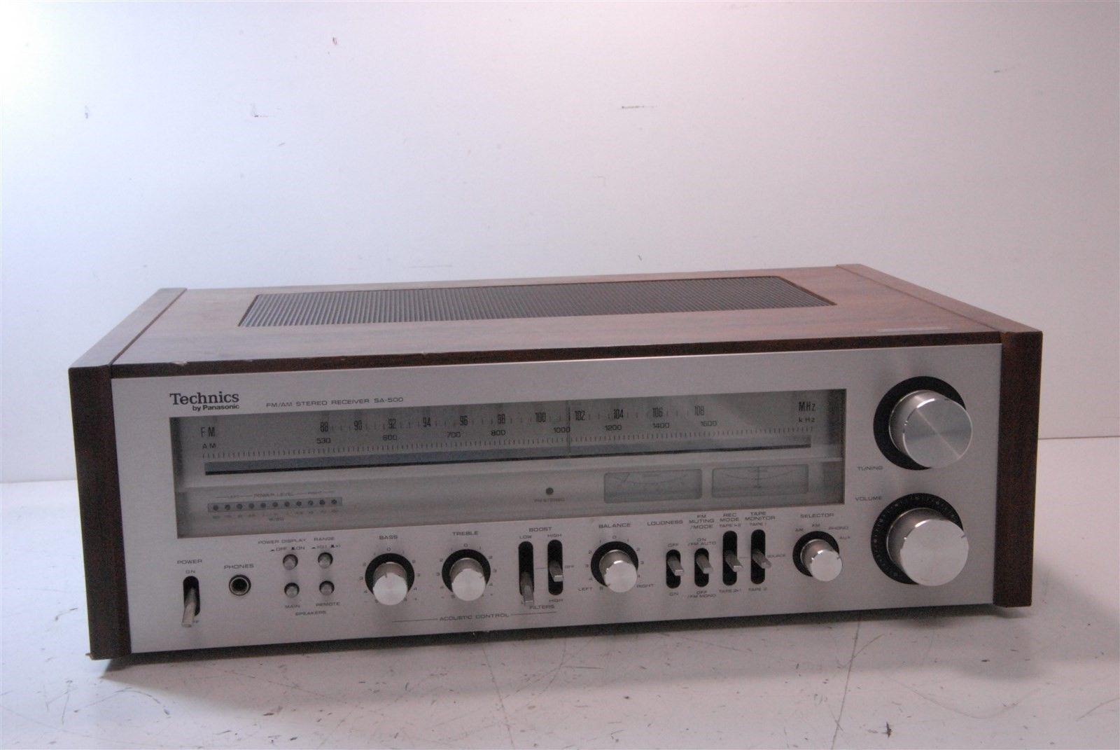 Details about Vintage Technics Fm/Am Stereo Receiver SA-303