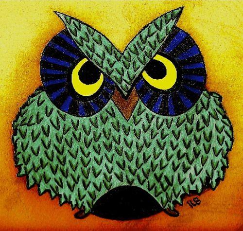Owl by Kayleigh Bellant