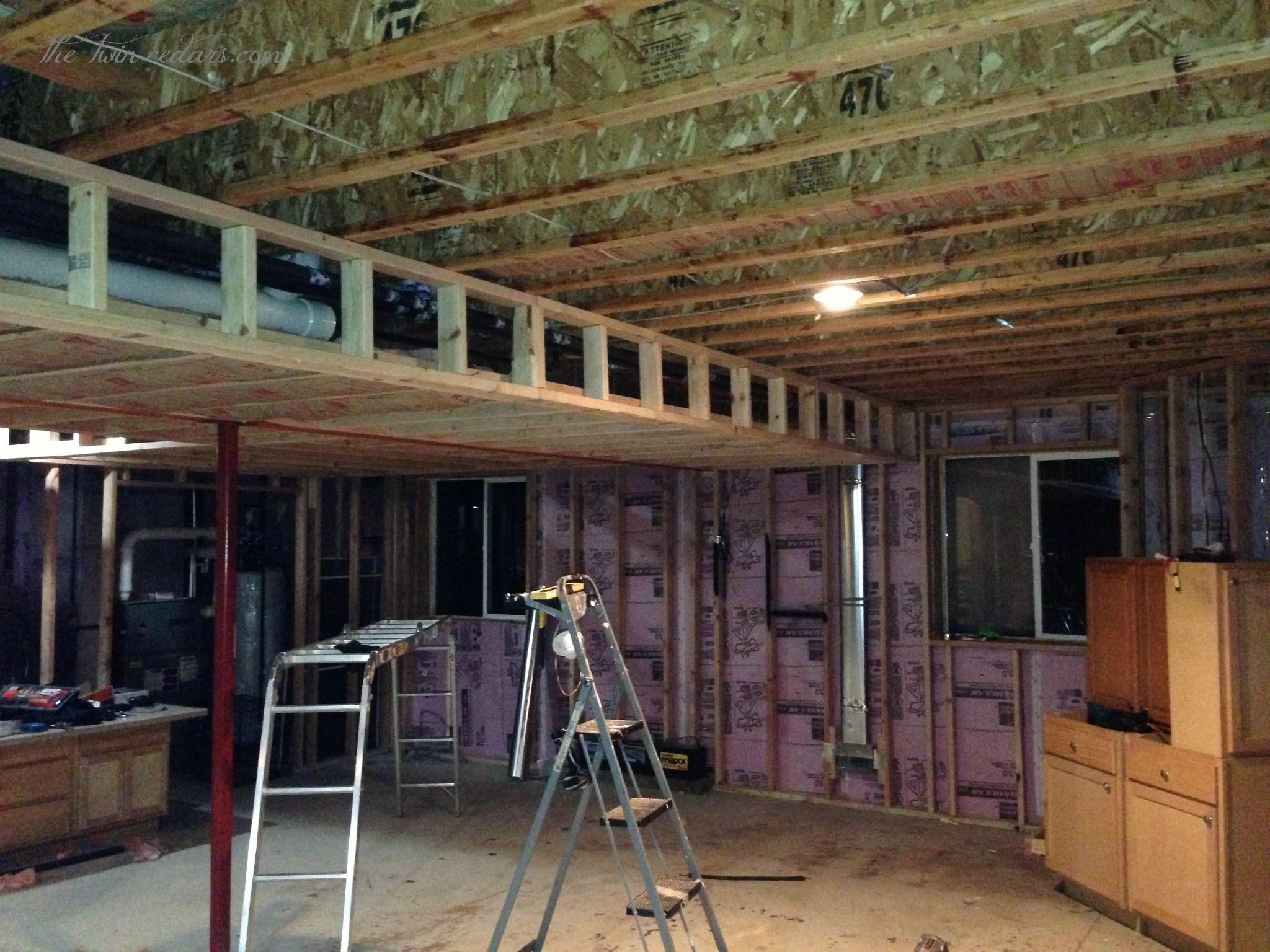 Diy basement ceiling beautiful alternative to drop