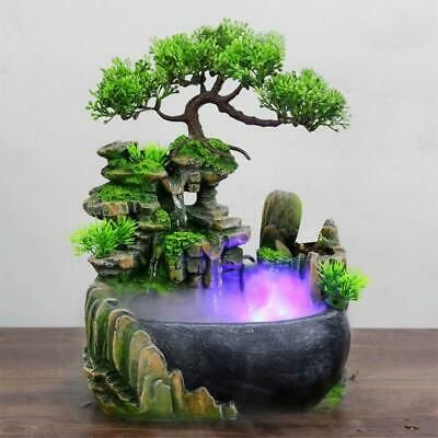 Details About Hode Creative Indoor Simulation Resin Rockery