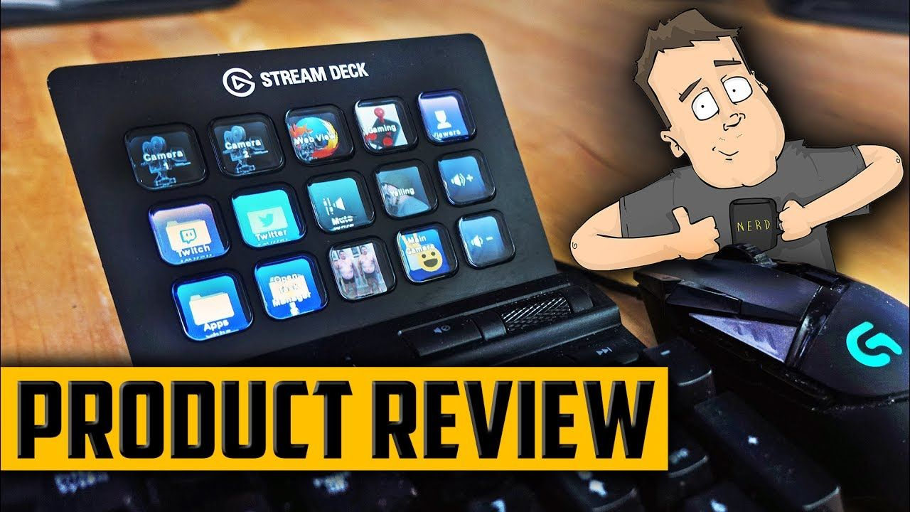 Elgato Stream Deck Review Gaming & Live Streaming