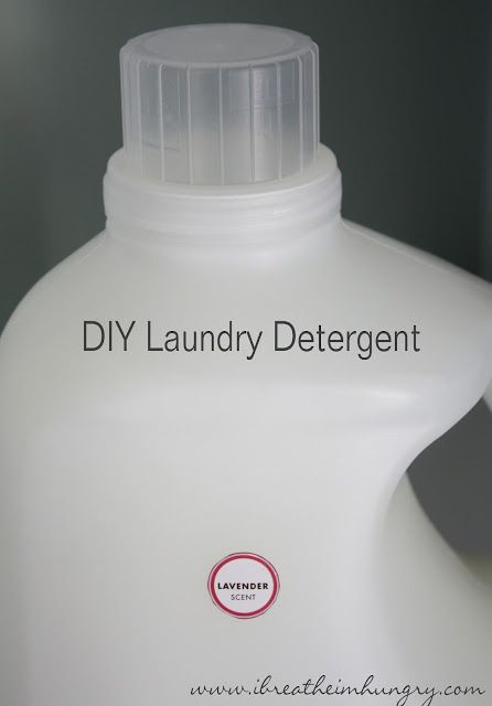 Foodless Fridays Homemade Laundry Detergent Homemade Laundry