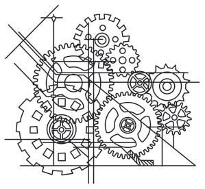 Blueprint cogsimage steampunk designs pinterest urban threads blueprint cogsimage engine tattoourban threadstransfer paperhenna malvernweather Image collections