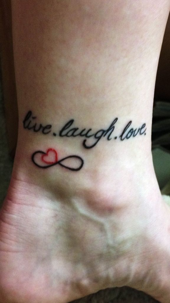 Cool 10 Small Writing Tattoos For Women Ideas Pinterest Infinity