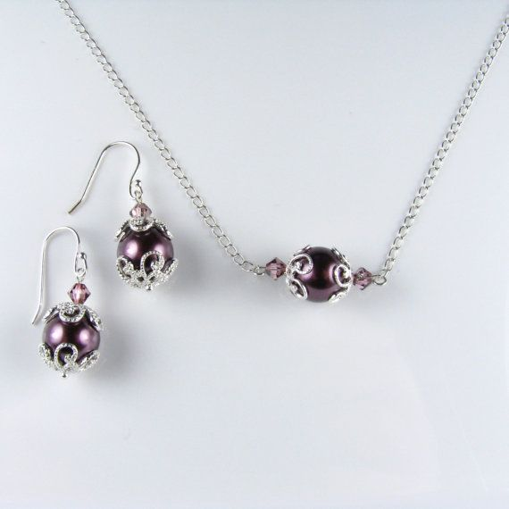 Necklace & earrings- can be customized