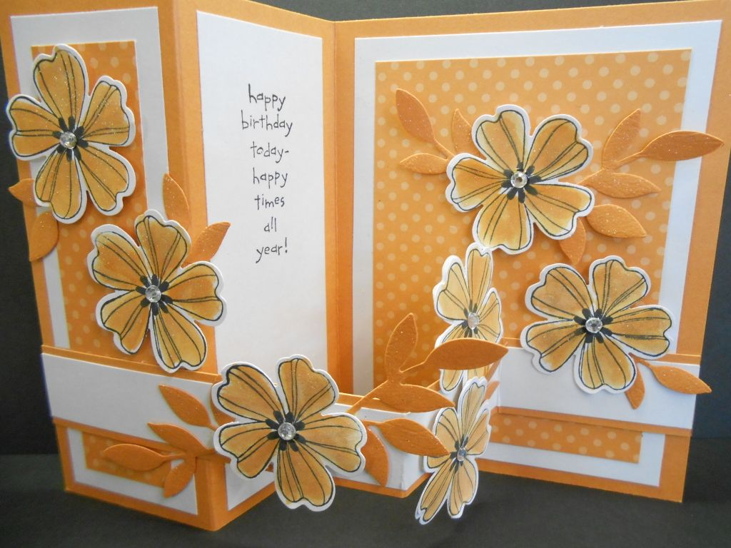 Vertical Z Card Birthday Inside Cards Handmade Greeting Cards