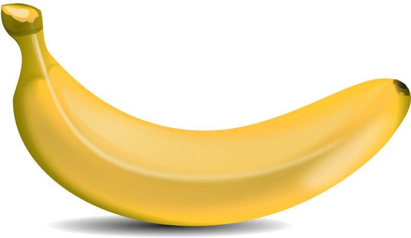 Free Cartoon Banana Clipart Vector Vector Arts Hub Buah Pisang Pohon Buah