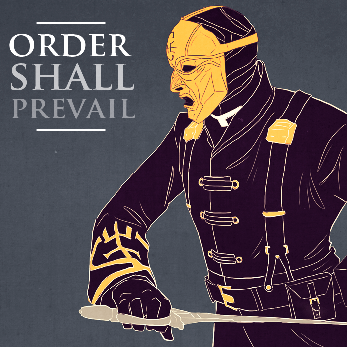 'Order Shall Prevail' by dead-blogs.tumblr.com