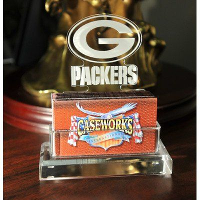 Awesome nfl green bay packers business card holder in gift box check awesome nfl green bay packers business card holder in gift box check more at http reheart Gallery