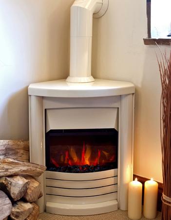 Wood Burning Stoves Uk, Electric Corner Fireplace Uk