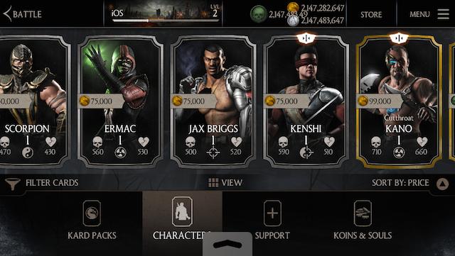 Online Generators Video Games Mortal kombat x, Mortal