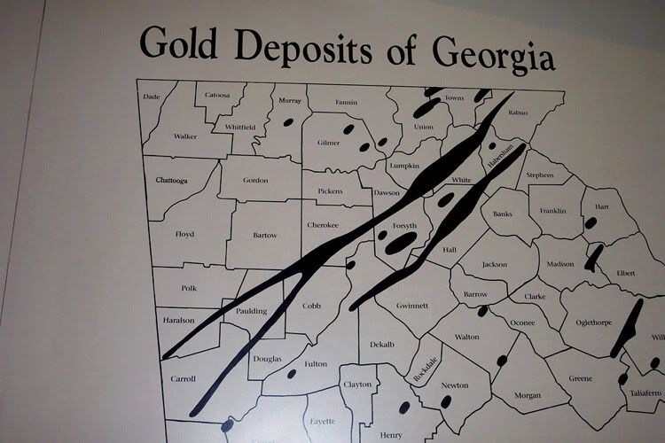 Georgia Gold Deposits Map Thread Hello From Northeast