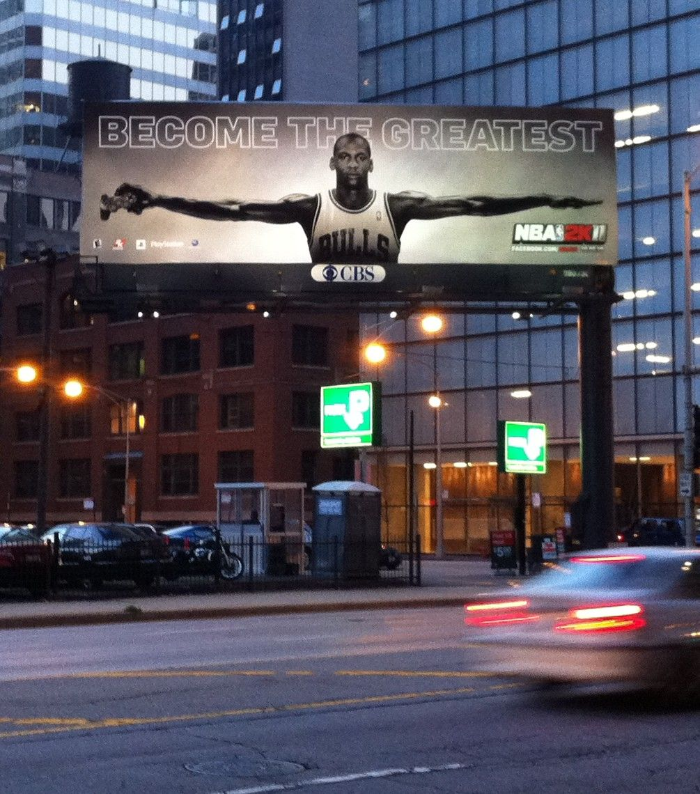 Michael Jordan + Air Jordan Panneau Daffichage