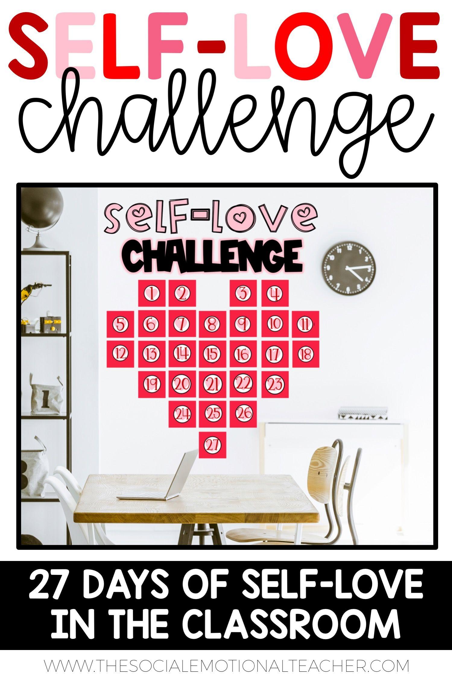 Self Love Challenge In