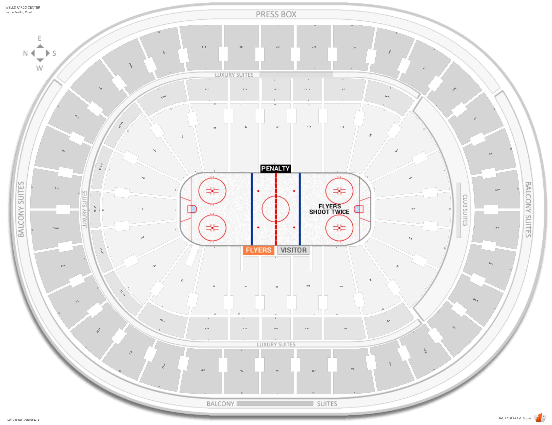 Philadelphia Flyers Seating Guide Wells Fargo Center Seating Charts Wells Fargo Center Disney On Ice
