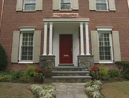 Front Porches Like This Red Brick Colonial