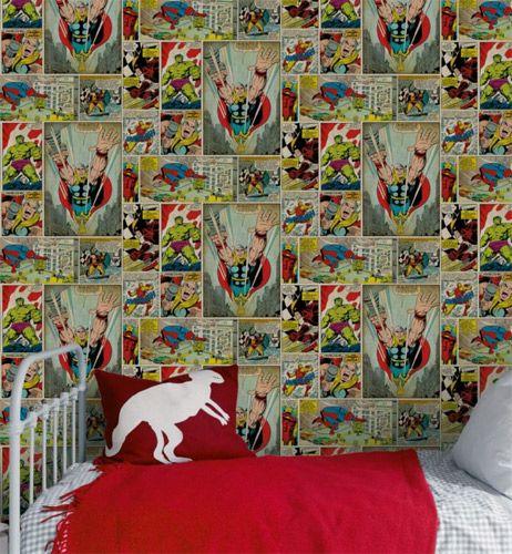 Comic Strip Wallpaper At B Q Papel De Parede De Crianca Papeis De Parede Wallpaper Criancas Childrens bedroom wallpaper b&q