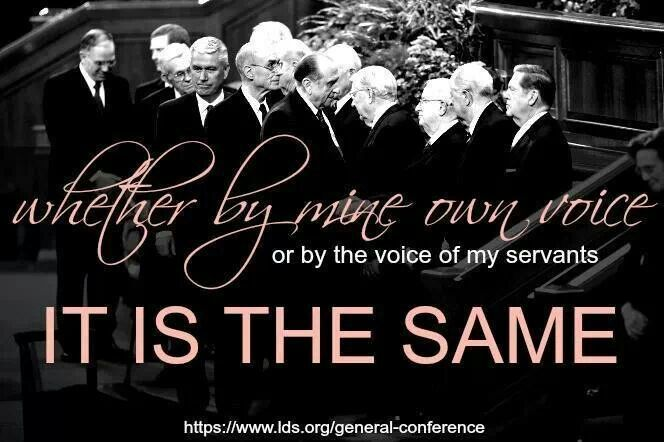 General conference. . .