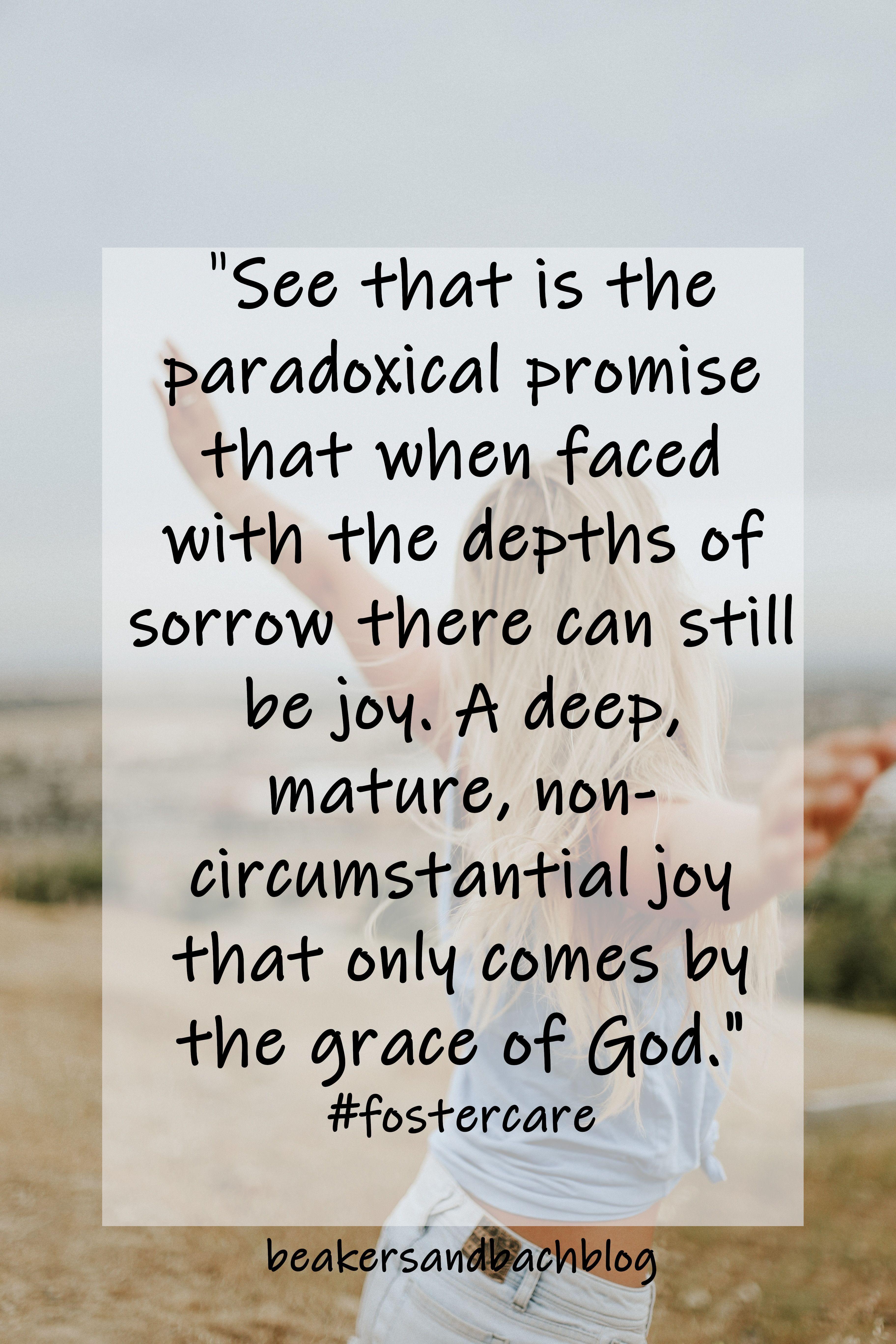 Promise Fostercare Joy Grace
