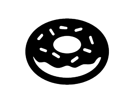 Doughnut Icon In Android Style This Doughnut Icon Has Android Kitkat Style If You Use The Icons For Android Apps We Recomm Android Icons Icon Android Fashion
